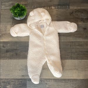 2/$25 Children's Place Teddy Style Onsie 0-3M